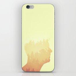 Mind trees iPhone Skin