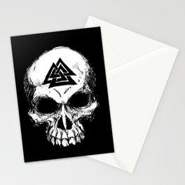 ValknutR Skull Stationery Cards