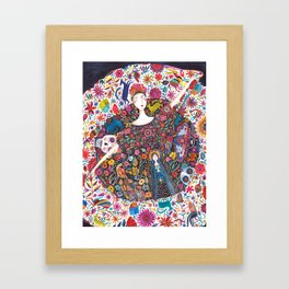 Imaginary journey – Mexico Framed Art Print