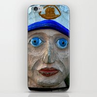 sailor iPhone & iPod Skins featuring Sailor by Fine2art