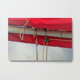 A Cayman Sail II Metal Print