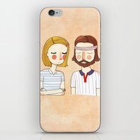 nan lawson iPhone & iPod Skins featuring Secretly In Love by Nan Lawson