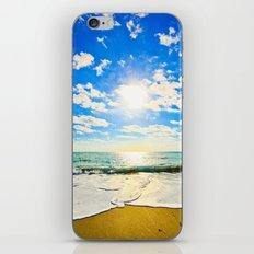 Ft. Pierce Florida Beach Morning Sun iPhone & iPod Skin