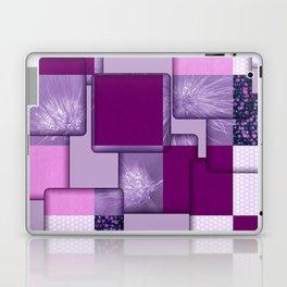 Purple Design Laptop & iPad Skin