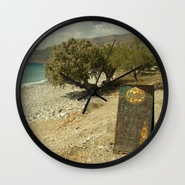 Mythos Beach Wall Clock
