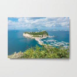 Nisida, Bay of Naples, Italy Metal Print