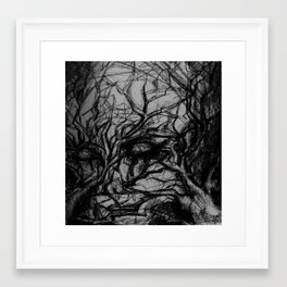 fears Framed Art Print