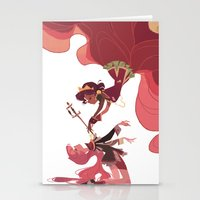 utena Stationery Cards featuring For the Rose Bride by Ann Marcellino