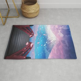 Cold summer nights Rug