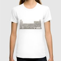 periodic table T-shirts featuring Periodic table by Florian Pasquier