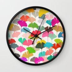 ginkgo 3 Wall Clock