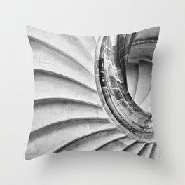 Sand stone spiral staircase 15 Throw Pillow