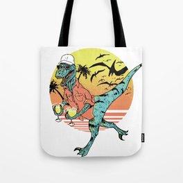Dinosaur cocktail Tote Bag