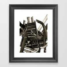Pipes Framed Art Print