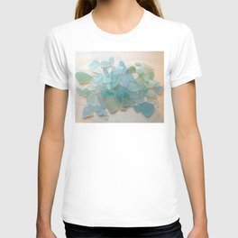 Ocean Hue Sea Glass T-shirt