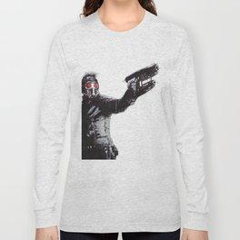 Star-Lord (Peter Quill) Guardians Graffiti Pop Urban Street Art Long Sleeve T-shirt