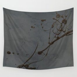Jackson Pollock Inspired Study In Black - Glam Wall Tapestry