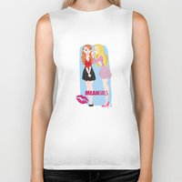 mean girls Biker Tanks featuring Mean Girls by Cerys Edwards