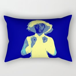 Blueberry Tart Rectangular Pillow