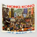 Vintage poster - Hong Kong by mosfunky