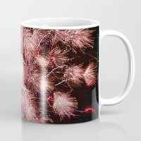 fireworks Mugs featuring Fireworks by For the easily distracted...