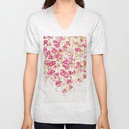 Cherry Blossom 1 Unisex V-Neck