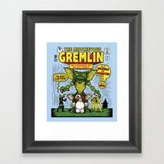 The Mischievous Gremlin Framed Art Print