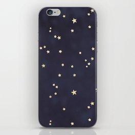 Gold Stars iPhone Skin