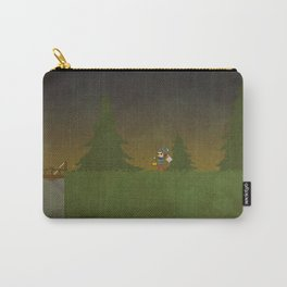 Forest Scene Carry-All Pouch