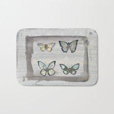 Butterfly study Bath Mat