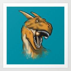 Charisaurus Rex Art Print