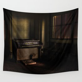 Tainted Piano Wall Tapestry
