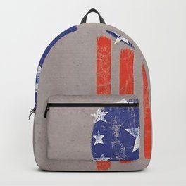Old World American Flag Backpack