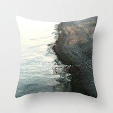 Modern Consumption Throw Pillow