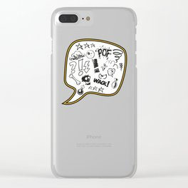 Sh… ! ! ! Clear iPhone Case