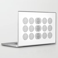 circles Laptop & iPad Skins featuring Circles by Catrin Eluned