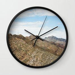 El paso mountains Wall Clock