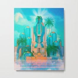 Temple of Everlasting Light Metal Print