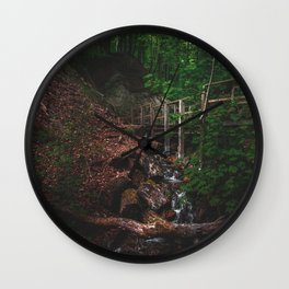 forest creek Wall Clock