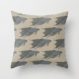 Fish Pattern Throw Pillow