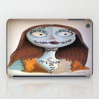 nightmare before christmas iPad Cases featuring Sally from nightmare before Christmas by Melissa Rodriguez