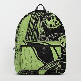 Coneja verde Backpack