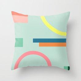 Modern Geometric 71 Throw Pillow