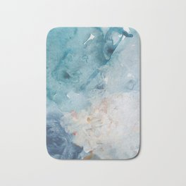 Number 75 Abstract Sky Bath Mat