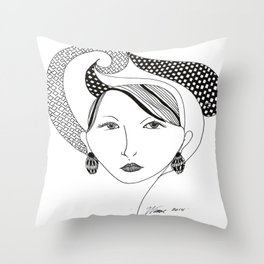 Beauty's Where you Find it Throw Pillow