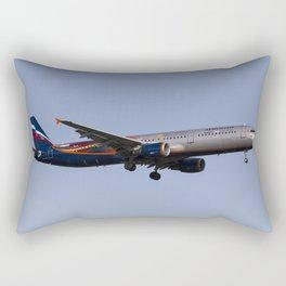 Aeroflot Airbus A321 Manchester United Rectangular Pillow