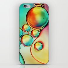 Colourful Bubble Drops iPhone & iPod Skin