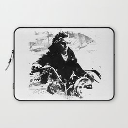 Beethoven Motorcycle Laptop Sleeve