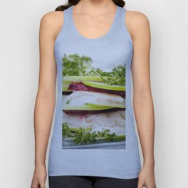 Apple and trout appetizer Unisex Tank Top