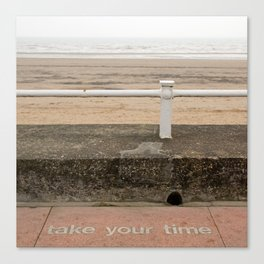 Take your time Canvas Print